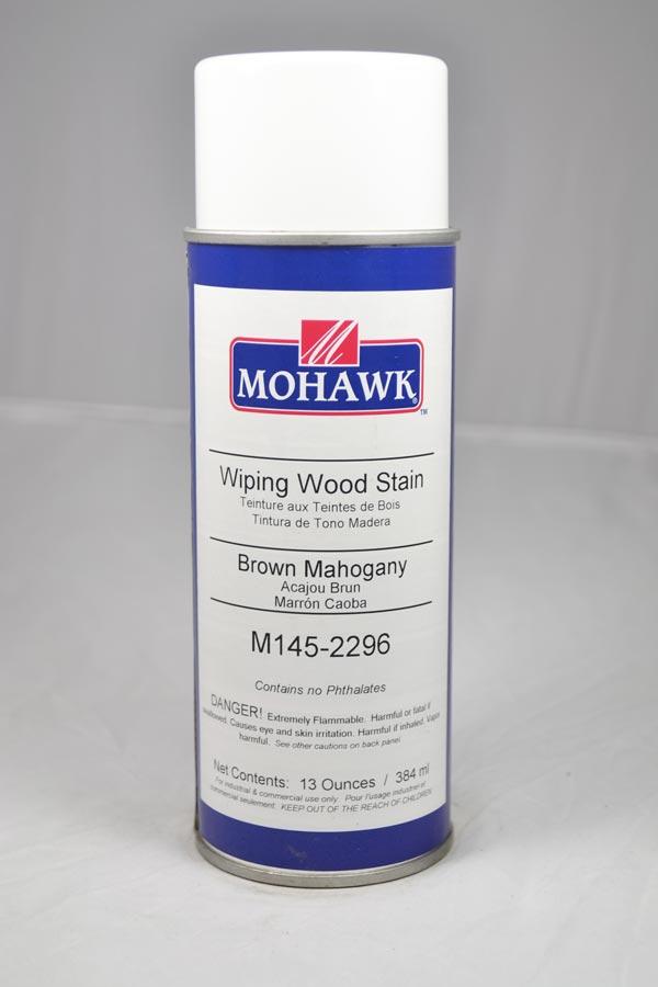 Mohawk Wiping Wood Stain Aerosol Brown Mahogany M145