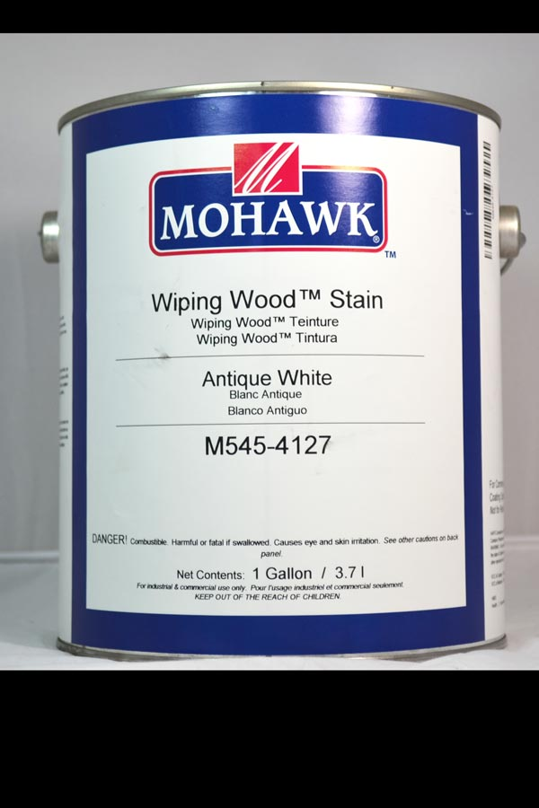 Mohawk Wiping Wood Stain Antique White Gal M545 4127