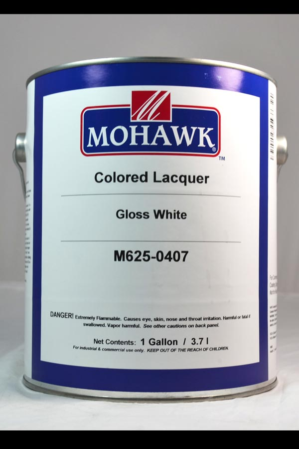 Mohawk Colored Lacquer White Gloss Gal M625 0407 85 91
