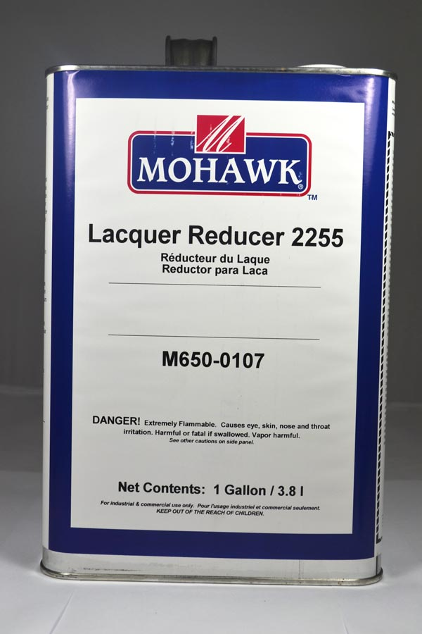 Mohawk Lacquer Reducer 2255 Gal - M650-0107 - $53 66