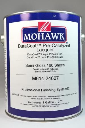 Mohawk Duracoat Pre Catalyzed Lacquer Semi Gloss 60 Sheen